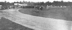 Parade of Working Patients on Field Day