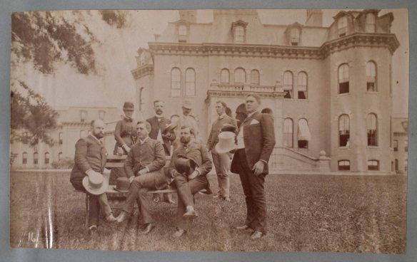 NYS Museum Albany album b 002-1- Unknown Doctors & Employees