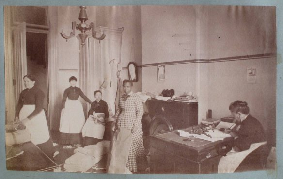 NYS Museum Albany album b 017-2 - Unknown Patients