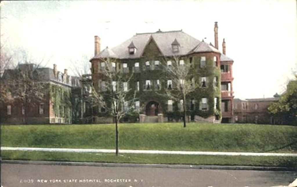 Monroe county insane asylum the inmates of willard 1870 for Rochester house
