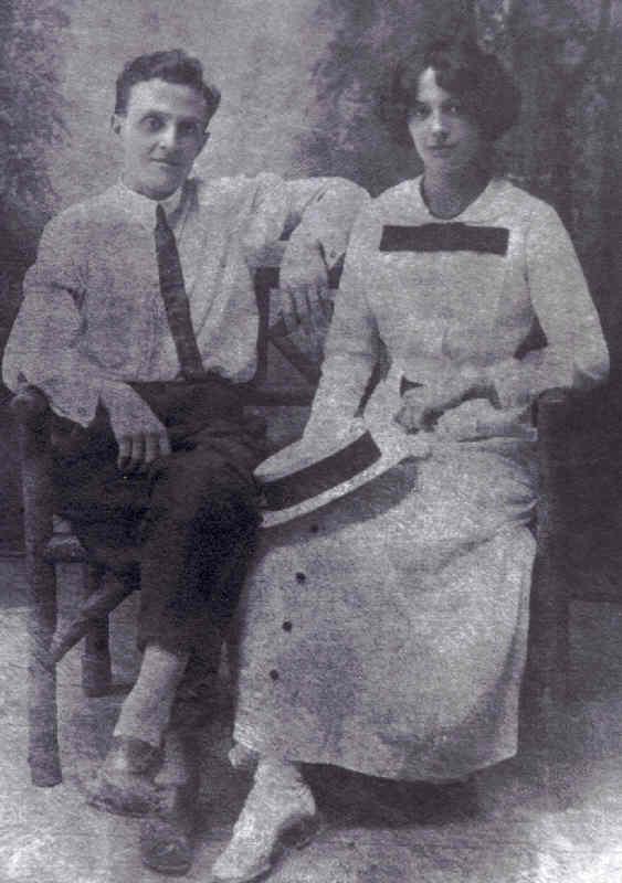 Jarvis & Bessie Putnam 4.10.1912