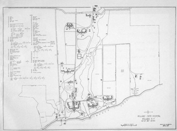 Willard Map 1917