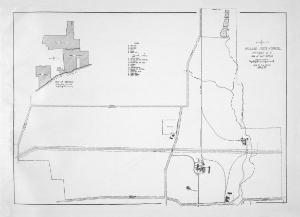 Willard Map East 1917