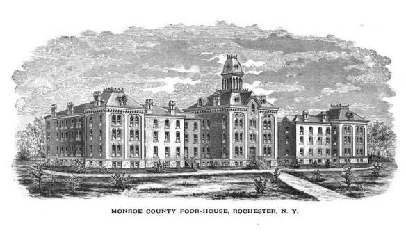 Monroe County Poor House 1873 (Rochester, New York)