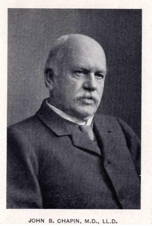 John B. Chapin, M.D., LL.D.