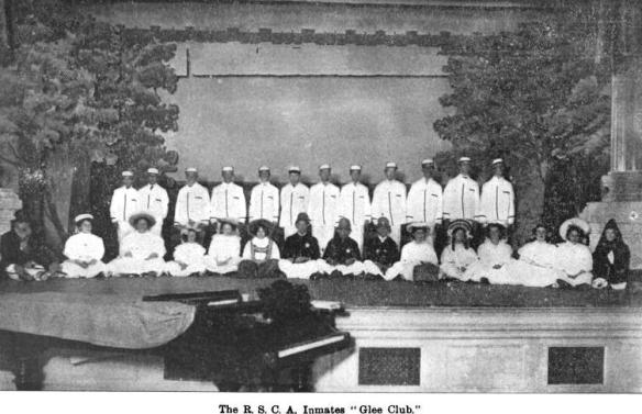 1907 RSCA Inmates Glee Club