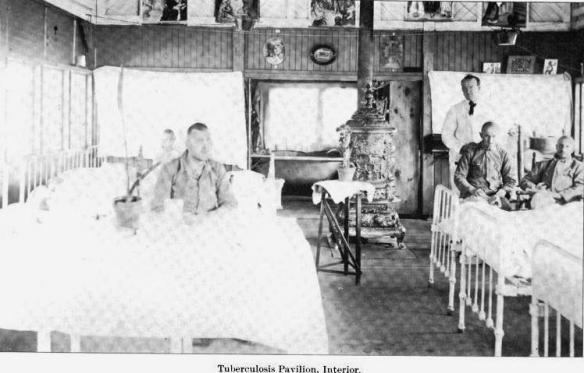 1907 TB Pavilion Interior