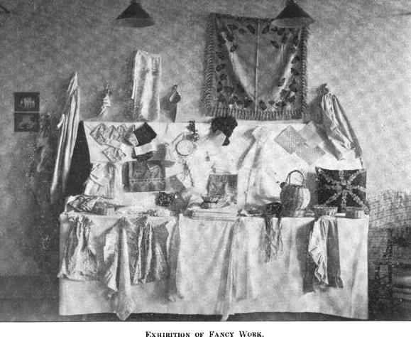 1908-7 Exhibition Of Fancy Work
