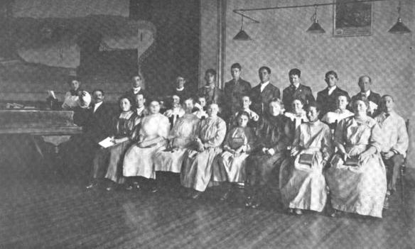 1909-12 Inmates Choir