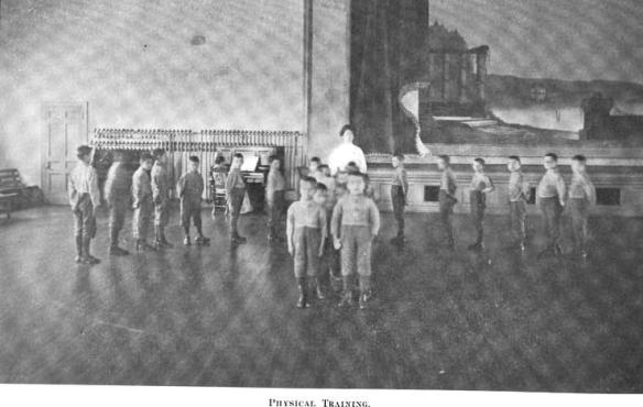 1909-15 Physical Training