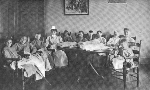 1909-23 Sewing Class