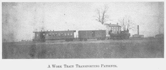 1 A Work Train Transporting Patients