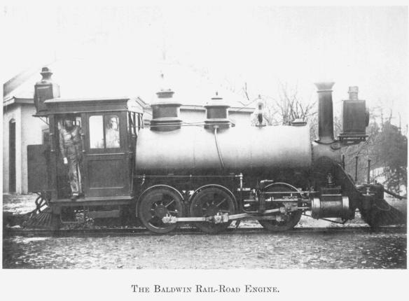 10 The Baldwin Rail-Road Engine