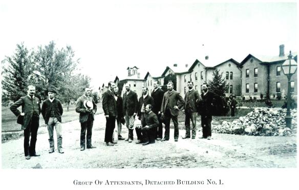 11Group Of Attendants, Detached Building No. 1-Wayne E. Morrison, Sr. 1978