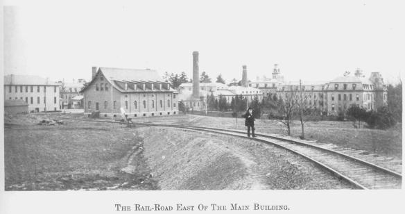 3 The Rail-Road East Of The Main Building