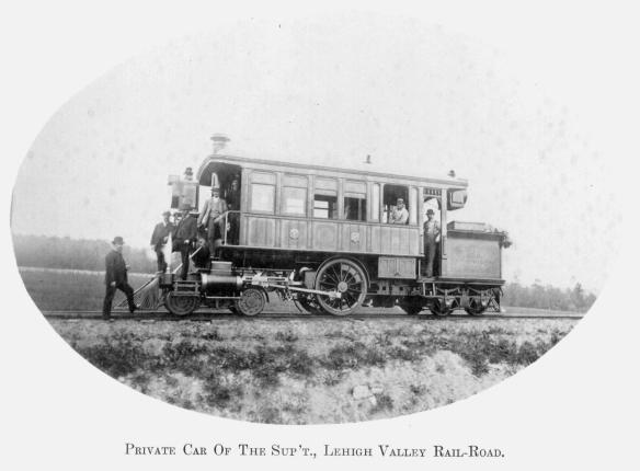 8 Private Car Of The Sup't., Lehigh Valley Rail-Road