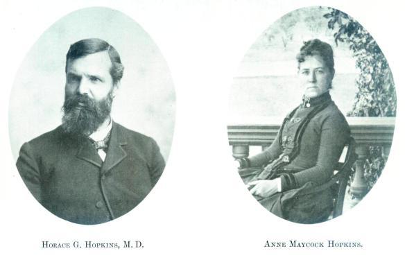36-Horace G. Hopkins, M.D. & Anne Maycock Hopkins-Wayne E. Morrison, Sr. 1978