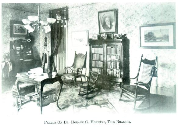 37-Parlor Of Dr. Horace G. Hopkins, The Branch-Wayne E. Morrison, Sr. 1978