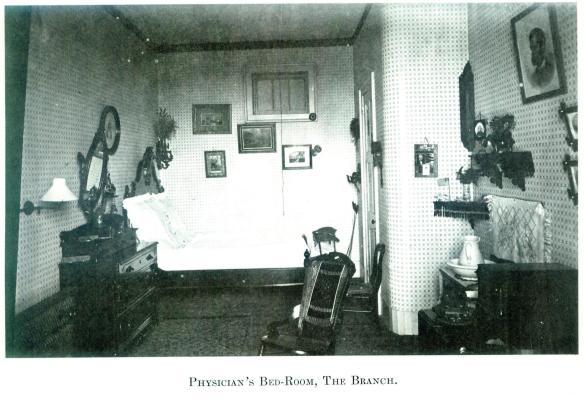 39-Physician's Bed-Room, The Branch-Wayne E. Morrison, Sr. 1978
