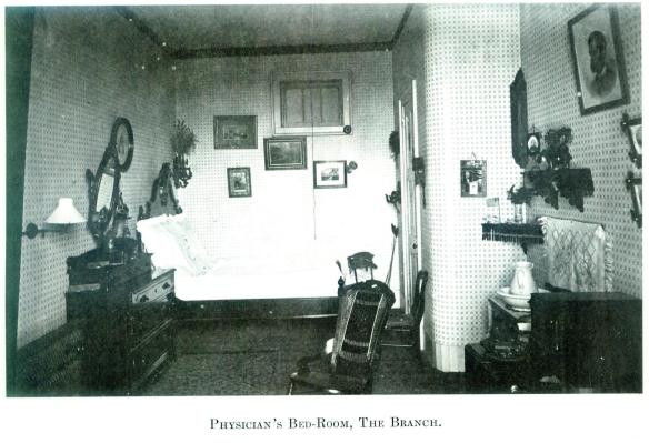 39-Physician's Bed-Room, The Branch-Wayne E. Morrison, Sr. 1978