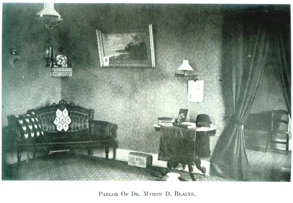 46-Parlor Of Dr. Myron D. Blaine-Wayne E. Morrison, Sr. 1978