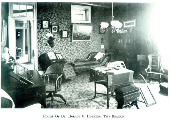 47-Rooms Of Dr. Horace G. Hopkins, The Branch-Wayne E. Morrison, Sr. 1978