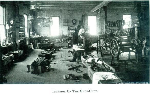 Interior Of The Shoe-Shop - Wayne E. Morrison, Sr. 1978