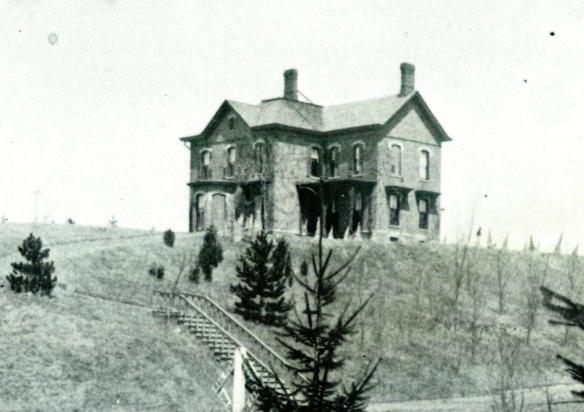 Residence Of Cap't Morris J. Gilbert, Asylum Steward - Wayne E. Morrison, Sr. 1978