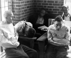 Alfred Eisenstaedt - Time & Life Pictures-Getty Images 1938-Pilgrim State Hospital 1938-Men