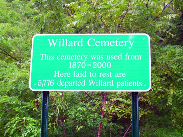 Willard Cemetery Sign 5.18.2013