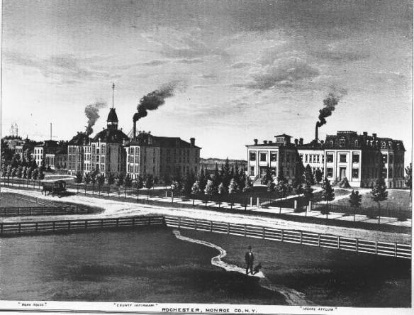Work House, County Infirmary, Insane Asylum 1877