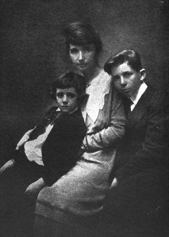 Margaret Sanger and Her Sons.