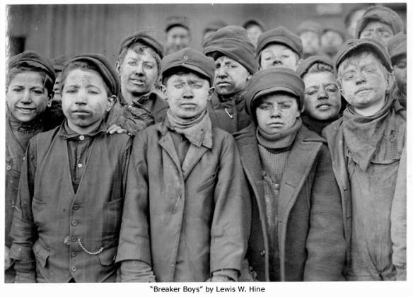 Breaker Boys by Lewis W. Hine