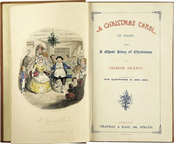 A Christmas Carol by Charles Dickens 1843