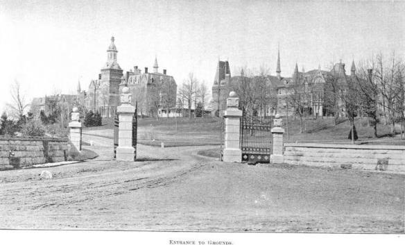 Entrance to Middletown 1896