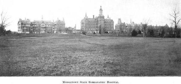 Middletown State Homeopathic Hospital 1896