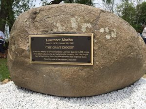 Plaque Honoring Lawrence Mocha