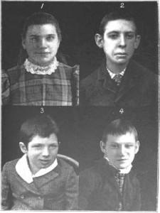 Plate I - Idiots 1898
